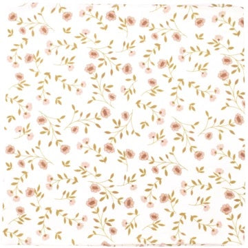 MUSLIN SWADDLE - WILD FLOWER WHITE