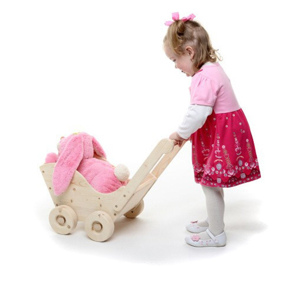 Pre-Order - Large Wooden Push Cart - Trudy (Arriving Oct)