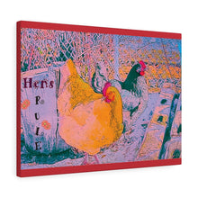 Hens Rule Canvas Gallery Print
