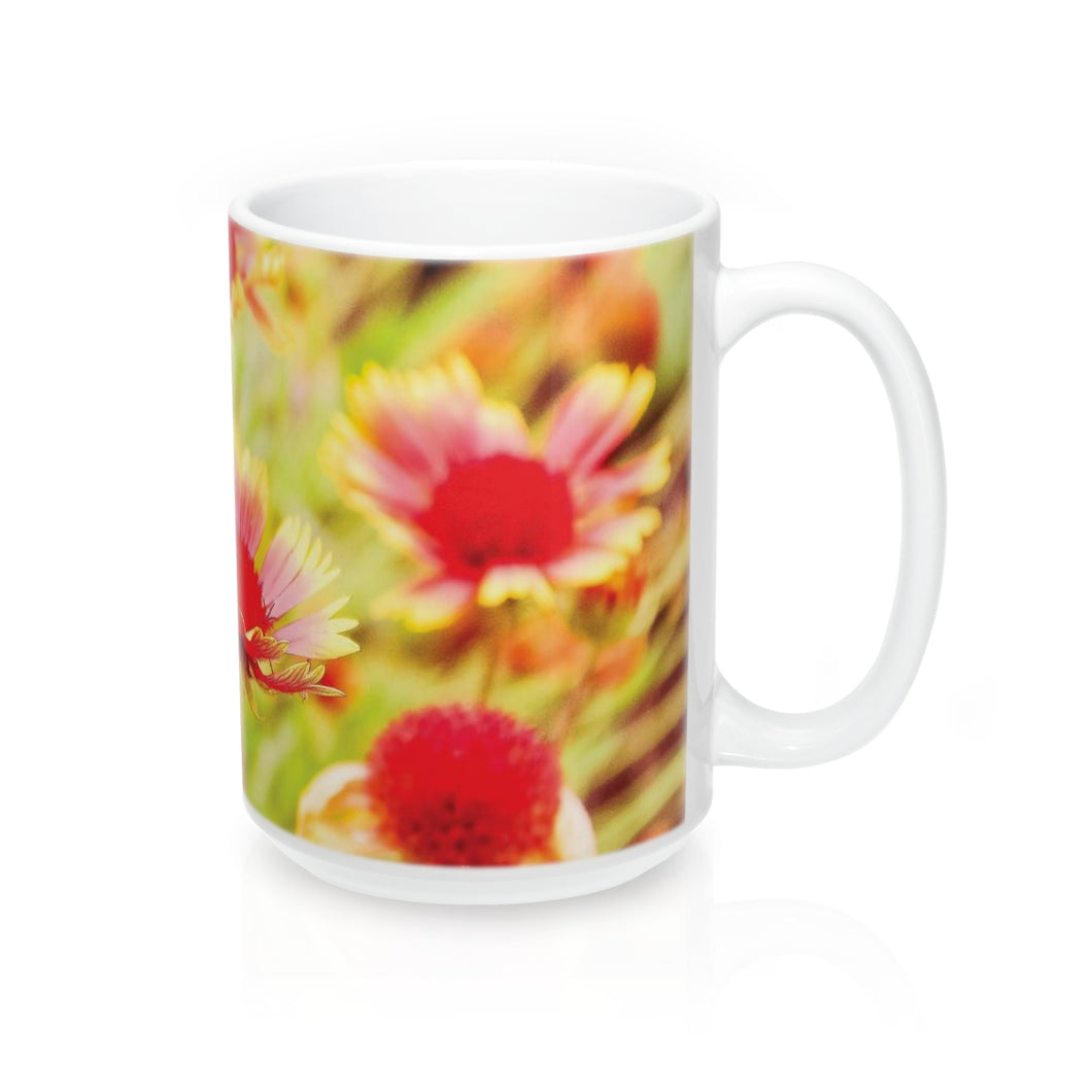 Flower Power Mug (15 oz)
