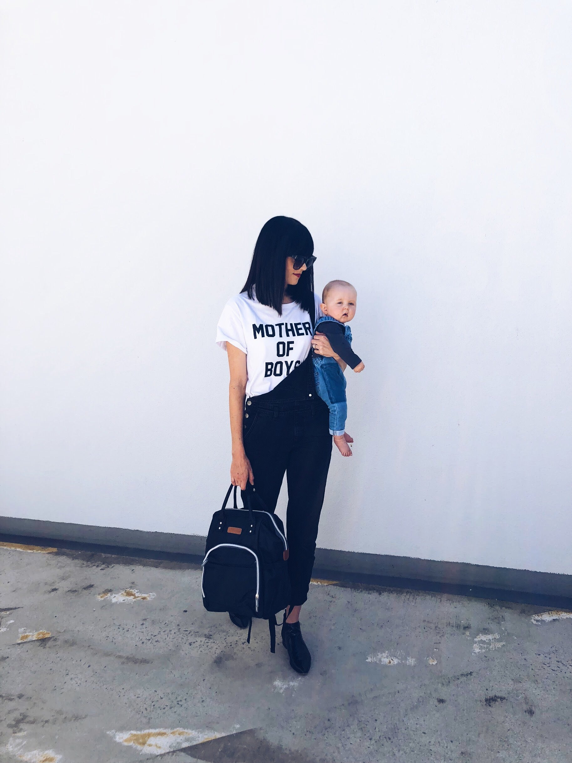 """Mother Of Boys"" Basic Tee"