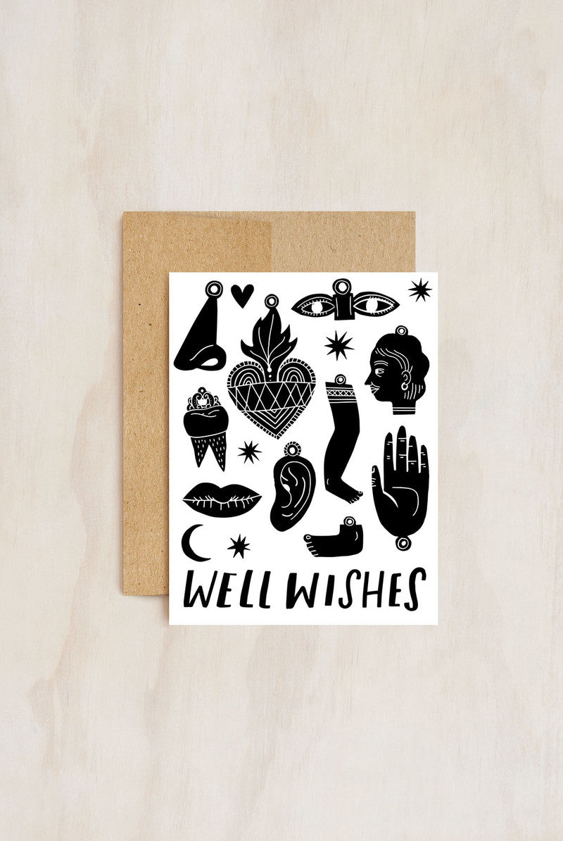 Hello!Lucky - Greeting Card - Well Wishes