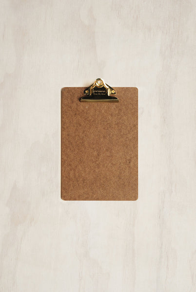 Penco - Old School Clipboard - A5