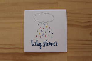 Sketchy - Greeting Card - Baby Shower