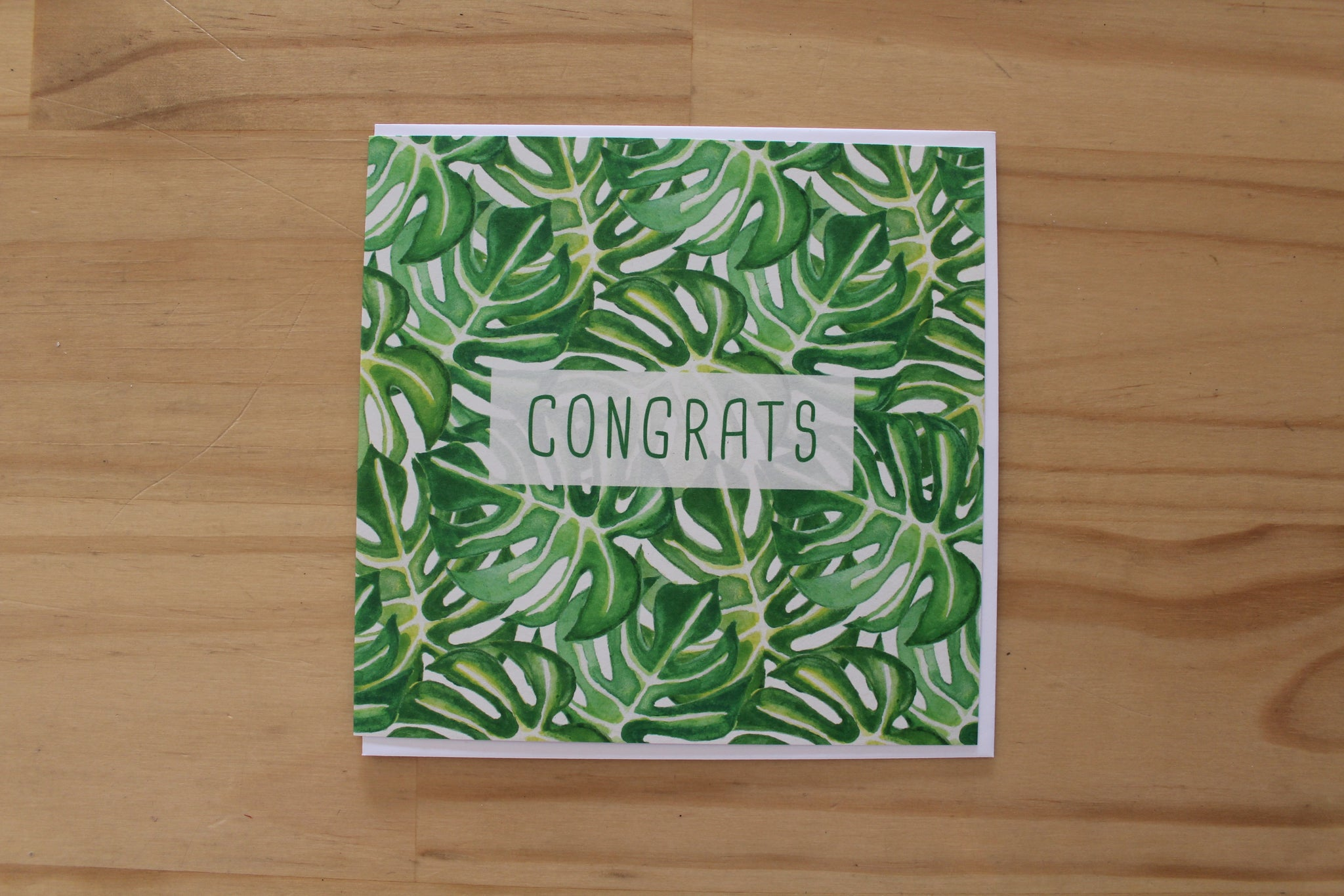 Sketchy - Greeting Card - Congrats