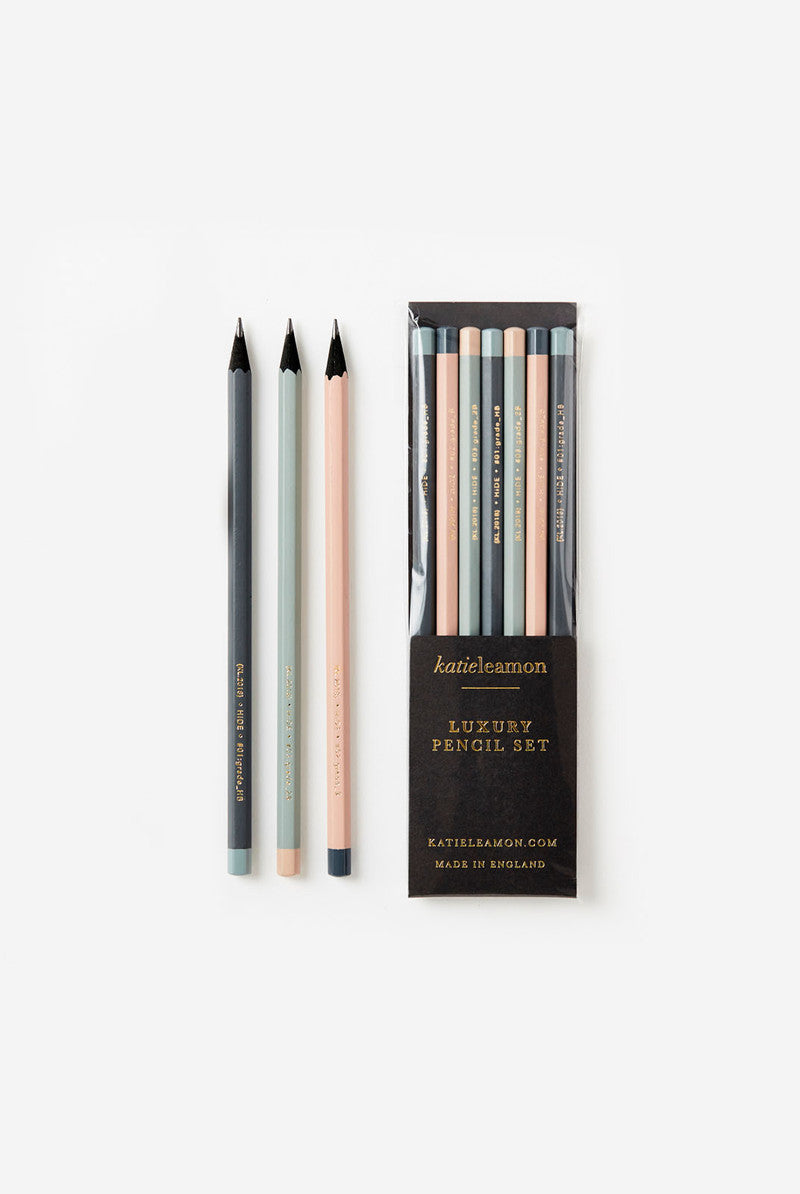 Katie Leamon - Graphite Pencils Pack - Pack of 7