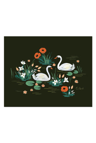 Rifle Paper Co. - Print - Swan