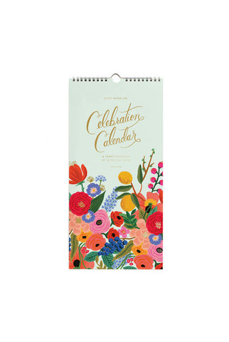 Rifle Paper Co - Wall Calendar - Undated - Celebration