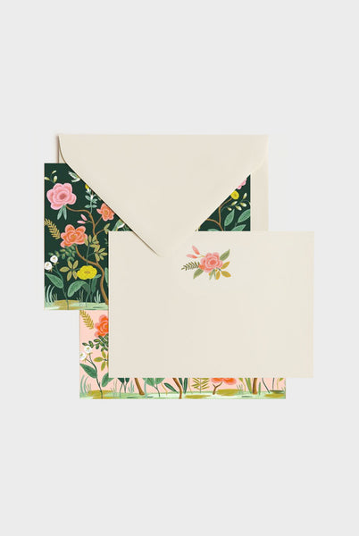 Rifle Paper Co - Social Stationery Set - Shanghai Garden