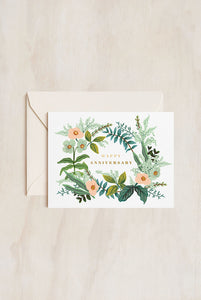 Rifle Paper Co - Greeting Card - Happy Anniversary
