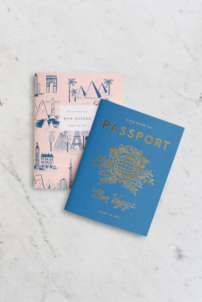 Rifle Paper Co. - Pocket Notebook Set of 2 - Passport