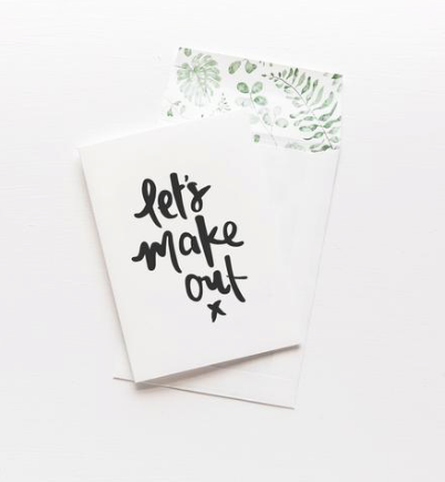 Emma Kate Co - Greeting Card - Let's Make Out