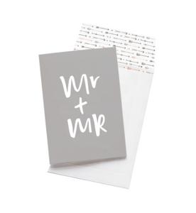 Emma Kate Co - Greeting Card - Mr + Mr