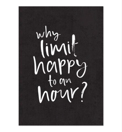 Emma Kate Co - Art Print - Happy Hour