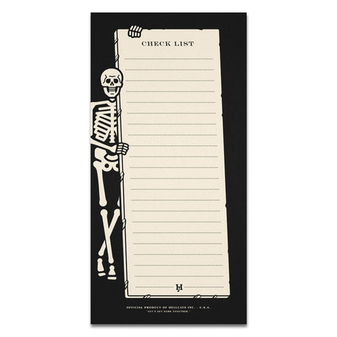 Hellcats - Skeleton Notepad