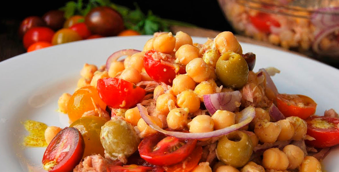 Chickpea Salad (Serve 2 people)