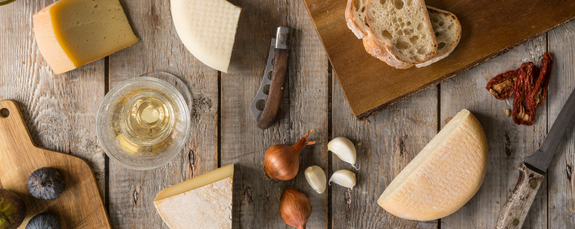 Montadito cheese boards