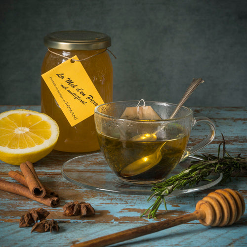 Raw Rosemary Honey