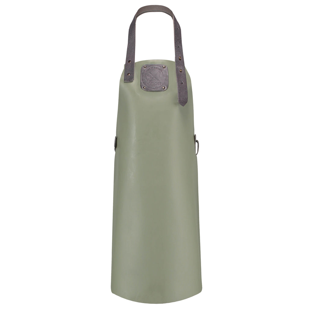 Junior Leather Apron | Olive