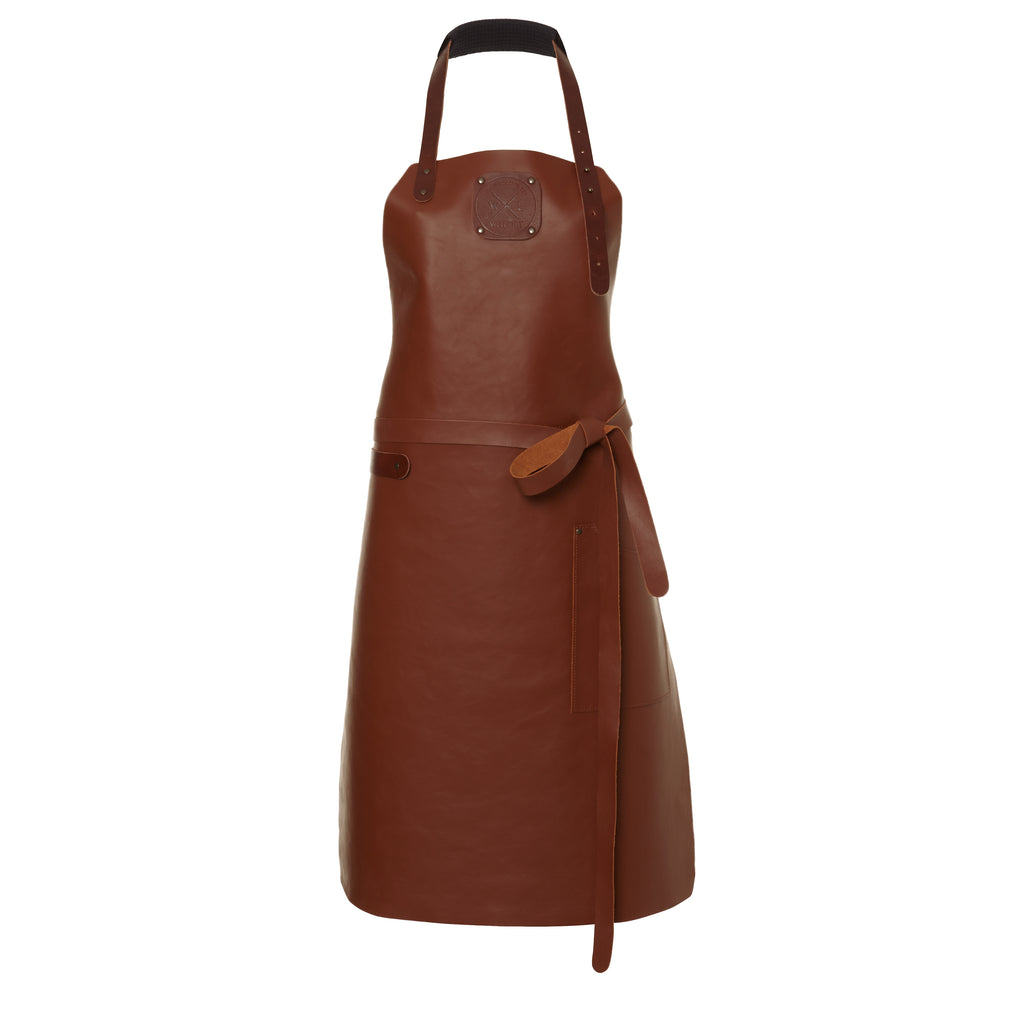 Ladies Leather Apron | Cognac