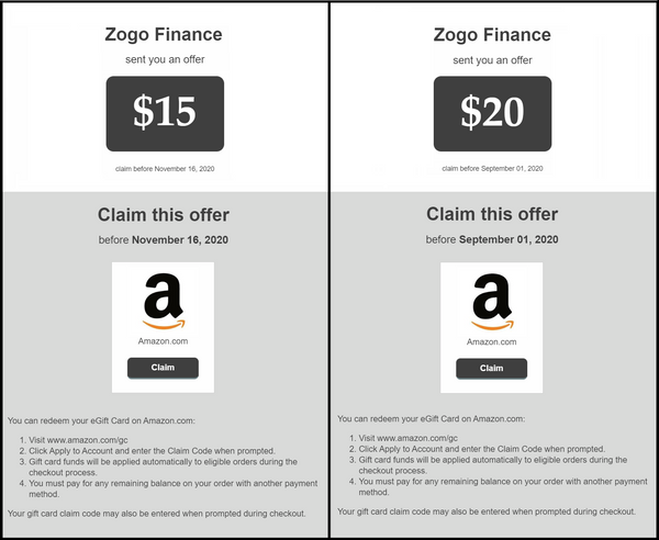 Zogo Gift Cards