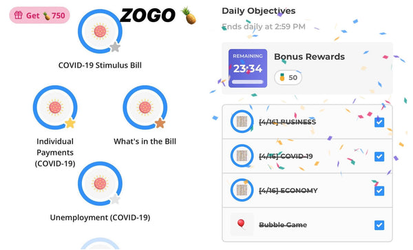 ZOGO free gift cards