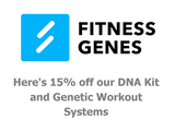 Find the PERFECT Fitness Plan for Your Genes and Save 15%