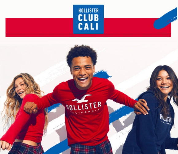 Hollister 15% off Entire Purchase−𝗜𝗻𝘀𝘁𝗮𝗻𝘁 𝗗𝗲𝗹𝗶𝘃𝗲𝗿𝘆