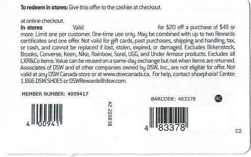 DSW Shoes Coupons, Promo Codes