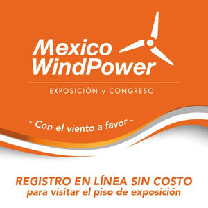 Visitenos en Mexico WindPower 2019