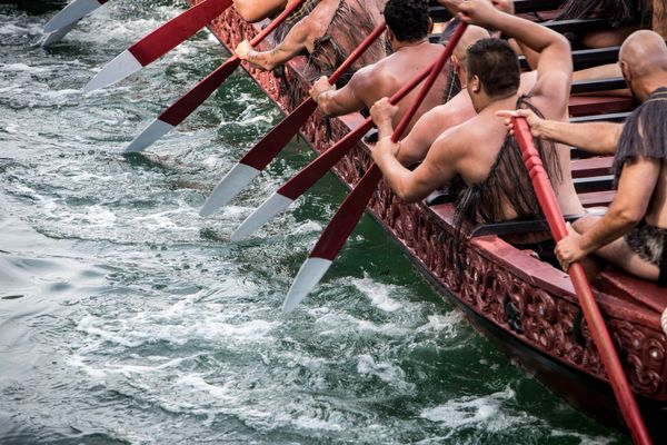 Waka Stories to Be Projected Over the Waitematā Harbour for Tāmaki Herenga Waka Festival