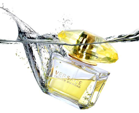 Yellow Fragances Versace