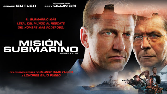 """MISIÓN SUBMARINO"" (HUNTER KILLER)"