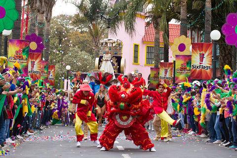 MARDI GRAS SE PRESENTA EN SIX FLAGS MEXICO