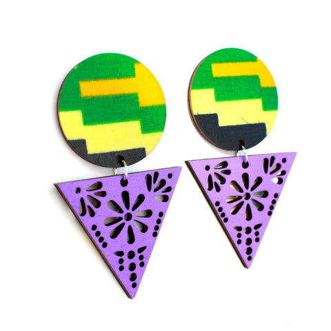 Abundance Papel Picado Earrings