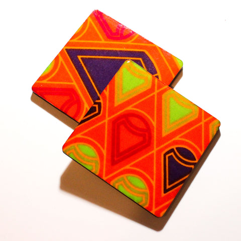 Inner Treasures - African Fabric Coaster Set