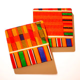 Ancestors - African Fabric Coaster Set