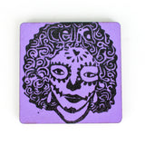 Abundant Purple Dia Coasters