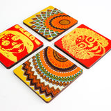 Freedom Red Dia Coasters