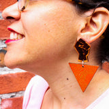 Fearless Power Fist Earrings