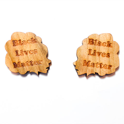 Justice Lady Stud Earrings