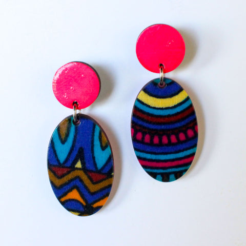 Self Love - Drop Earrings