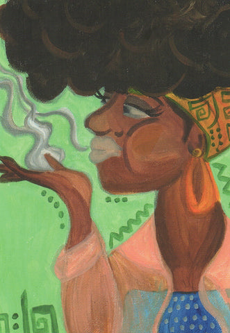 Black Fem Portraits - Postcards