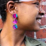 Abundance - Dangle Circle Earrings