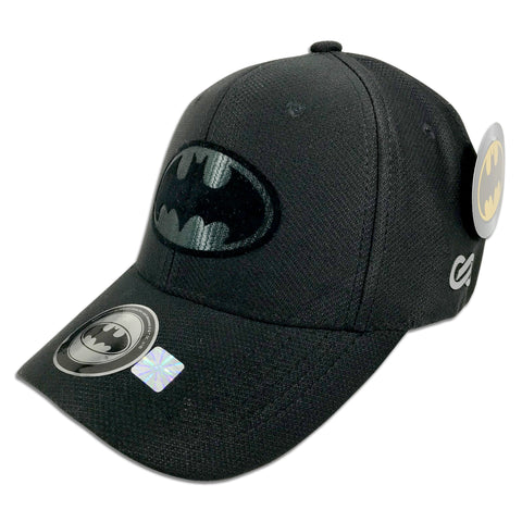 Gorra Batman Flexfit Cap BLACK/BLACK - SNAPBACK MX