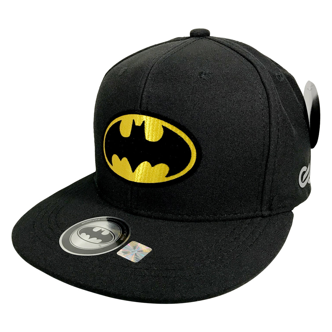 Gorra Batman Classic BLACK/YELLOW - SNAPBACK MX