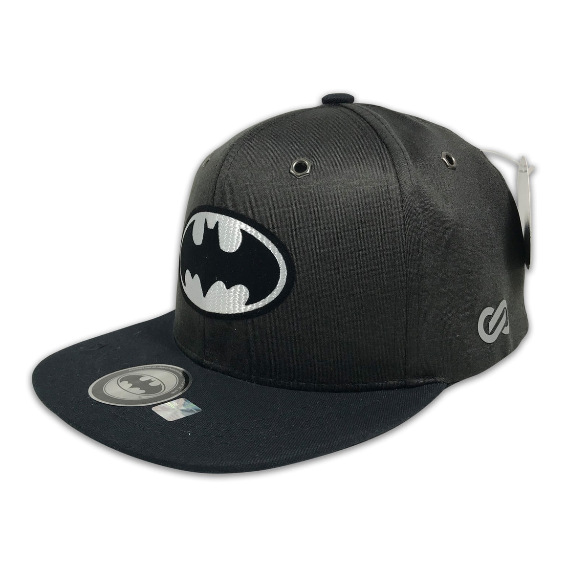 Gorra Batman White Shield OXFORD/GREY - SNAPBACK MX