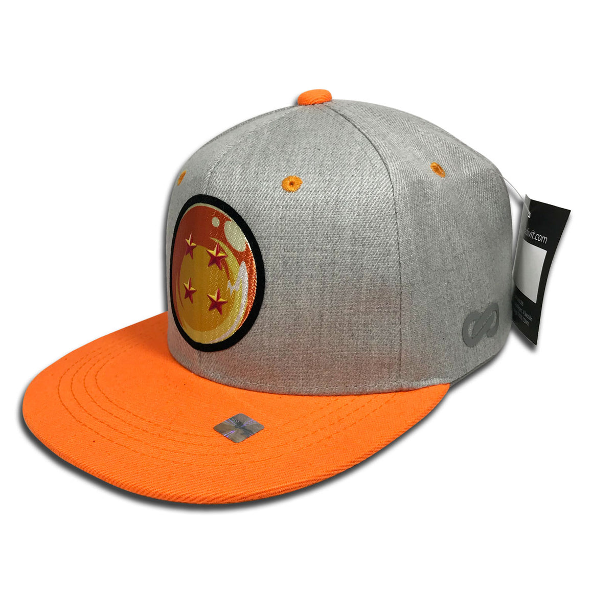 Gorra Dragon Ball Super Esfera GREY/ORANGE - SNAPBACK MX