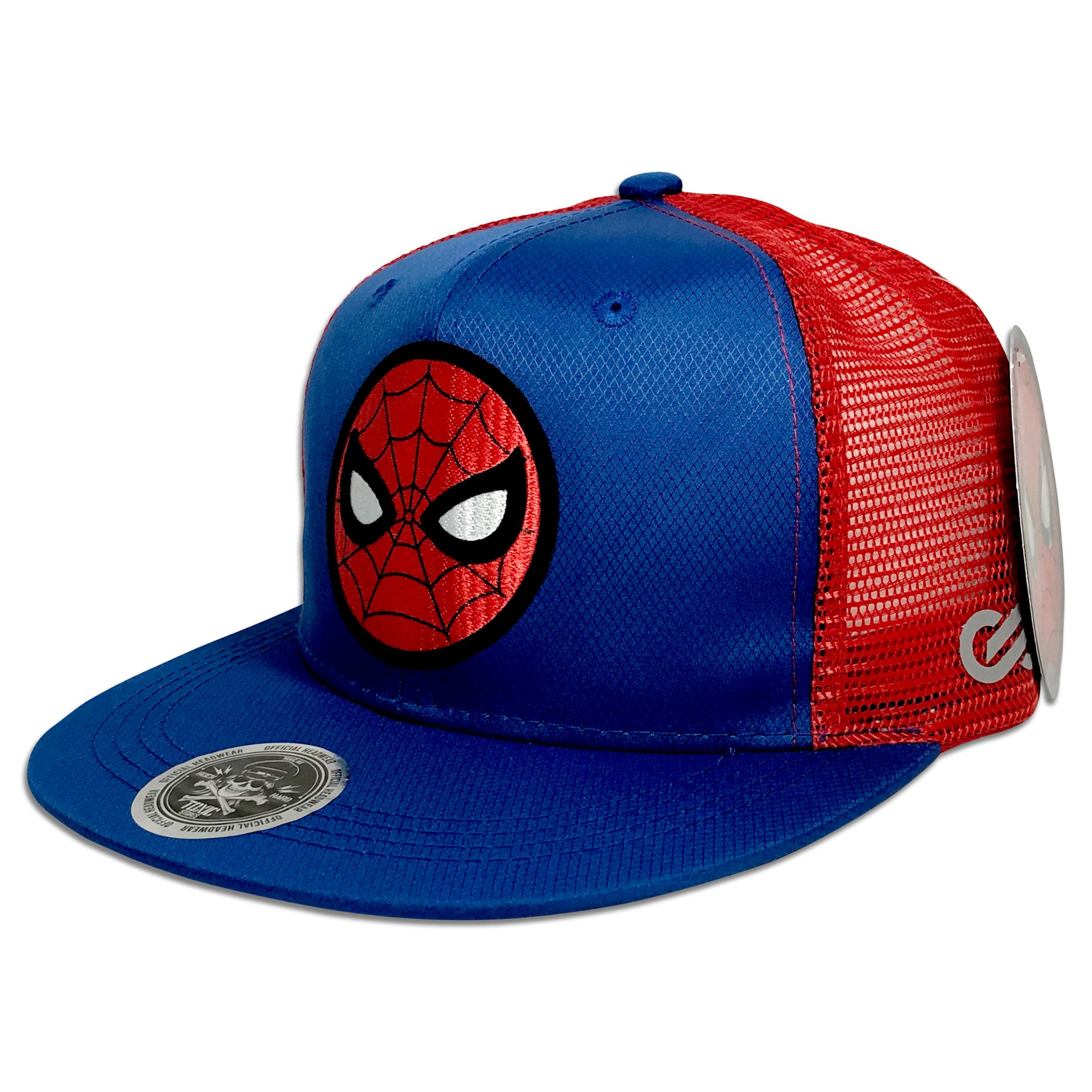 ... Gorra Spiderman Logo RED-BLUE - SNAPBACK MX 37824c851e4