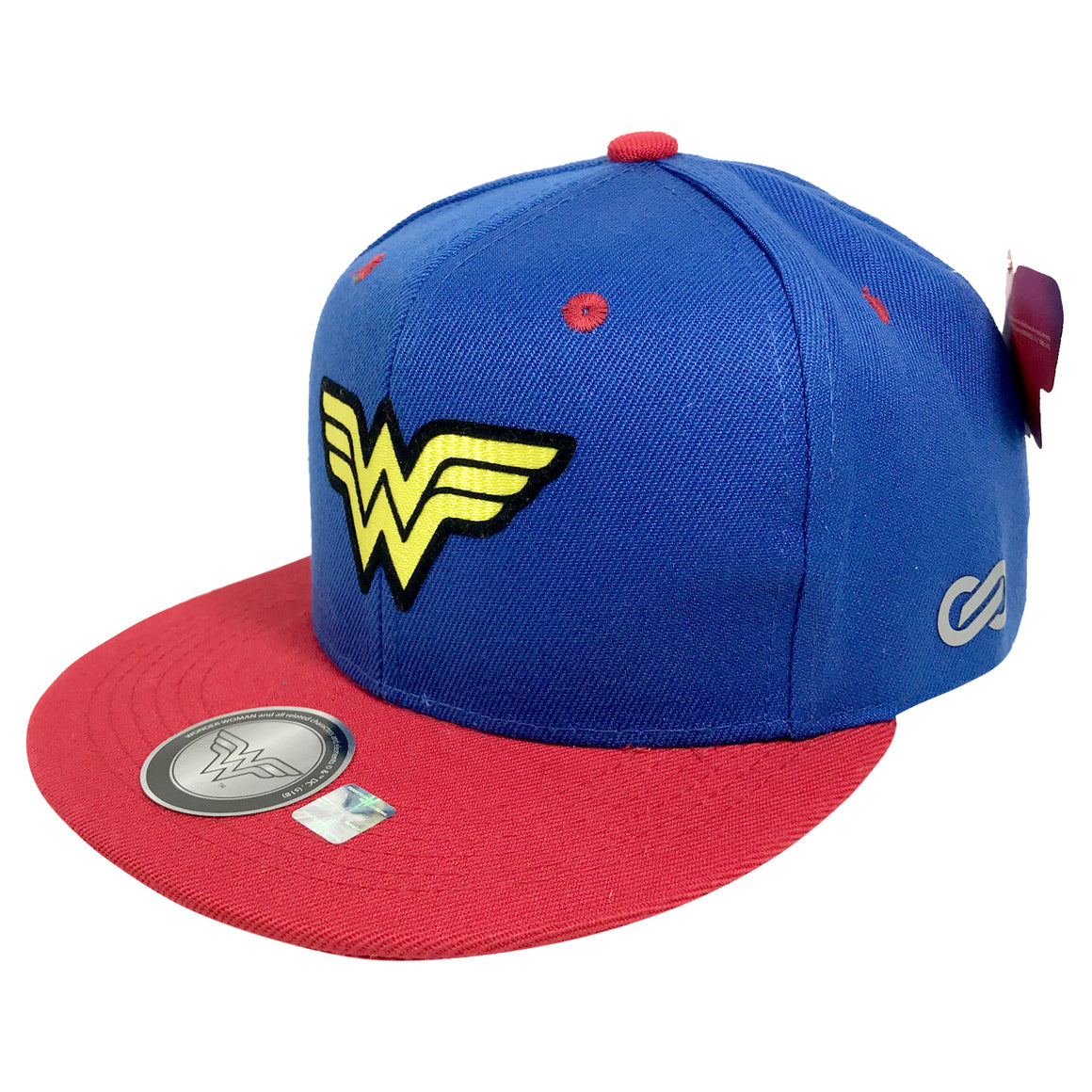 Gorra Wonder Woman Logo BLUE/RED - SNAPBACK MX
